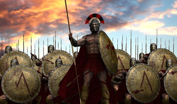 Пропаганда До Нашей Эры: 300 спартанцев