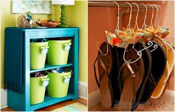 17 стильных и практичных идей хранения обуви, которые позволят паре найти свое место