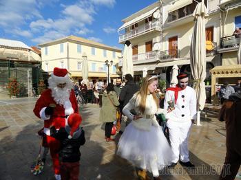 Новый год в Греции. Лефкада - столица острова Лефкада
