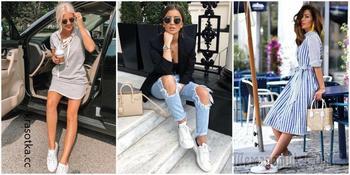 С чем носить летние кроссовки: 17 идей для любого случая
