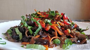 Овощной салат с грибами Муэр