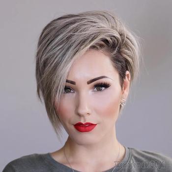 Короткие женские стрижки на тонкие волосы — фото актуальных моделей 2018