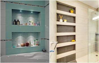 Для вдохновения: 8 креативных идей использования плитки в ванной комнате