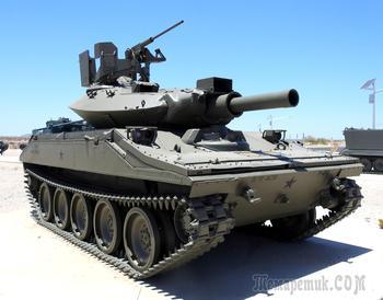 "Плавающий авиадесантный танк США. M551 ""Шеридан"""