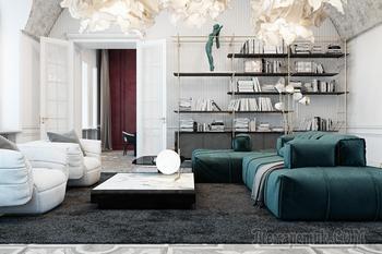 Апартаменты в итальянском стиле