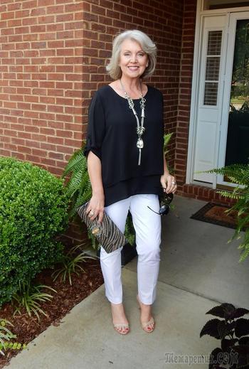 Летняя мода 2018 для женщин за 50: как выглядеть моложе своих лет