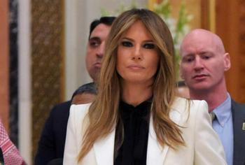 Все образы Мелании Трамп из тура в Саудовскую Аравию