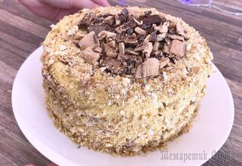 Торт без выпечки из трёх ингредиентов