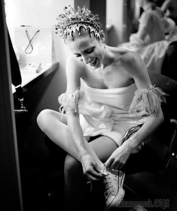 «Без пуантов». Королевский балет в фотопроекте Мэри Маккартни