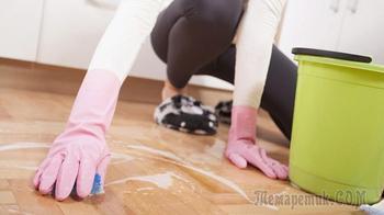 Как сделать идеальное средство для мытья пола