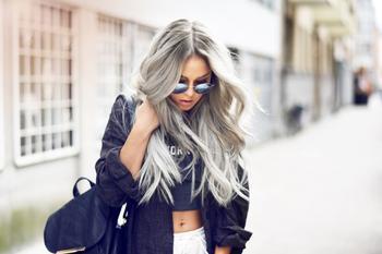 Пепельный цвет волос — как добиться самого фантастического эффекта