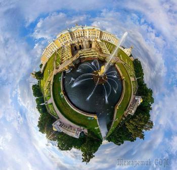 Сферический мир в фотографиях