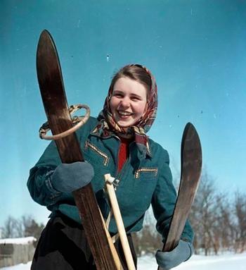 А советская молодёжь тоже умела веселиться!