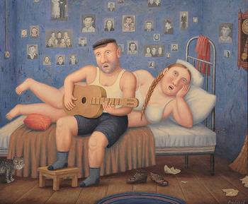 Художник, который рисует нашу жизнь такой, какая она есть на самом деле