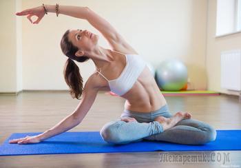 Йога позы для похудения: 4 асаны, которые вы сделаете дома легко
