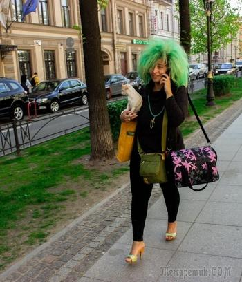 Интеллигентное безумие или странная мода петербургских улиц