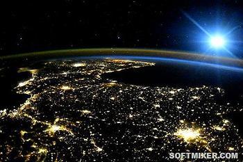 Уникальные снимки Земли и иных миров сделанные с помощью специальной техники