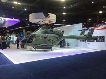 Новый боевой вертолет MD969 Combat Explorer всего с одним винтом