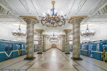 Самые красивые станции советского метро