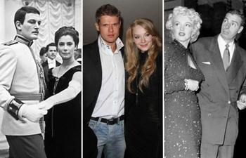 Звёздные пары, семьи которых разрушили съёмки в кино