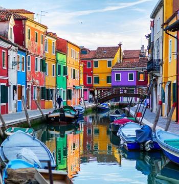 Бурано - самый красочный квартал Венеции, Италия