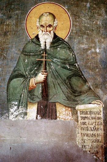 Преподобный Афанасий Афонский: биография, история, икона и молитва