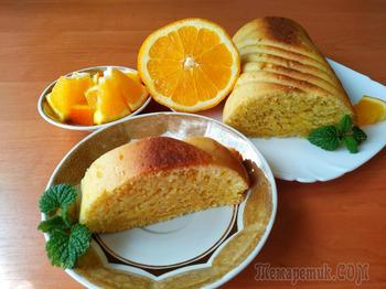 Апельсиновый домашний кекс (экономно и просто)