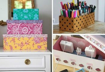 Идеи из картонных коробок