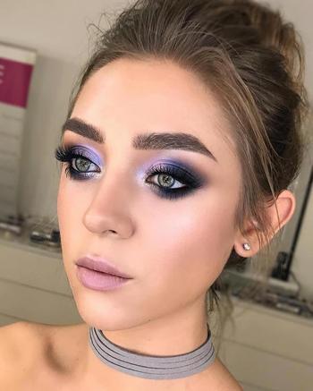 Сиреневый — новый чёрный или 35 модных видов макияжа в сиреневых, фиолетовых и синих тонах