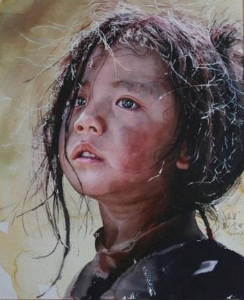 Реалистичные акварели китайского художника Лю Йуншеня (Liu Yunsheng)