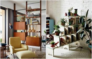 12 удачных идей зонирования пространства небольшой квартиры-студии