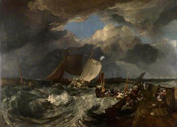 Корабли в живописи Уилла Тёрнера