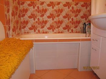 Ванная комната: оранжевое настроение