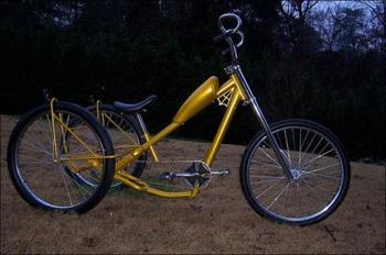 Необычные и прикольные велосипеды