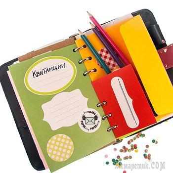 Делаем блокнот с конвертами — наведем порядок в бесконечных мелочах