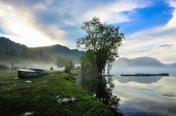 Телецое озего. Республика Алтай.