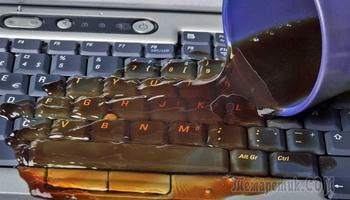 Не работает клавиатура на ноутбуке: что делать