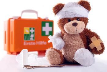 Первая помощь при ранах и порезах у детей