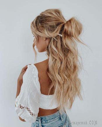 Быстрые и простые причёски для женщин на каждый день