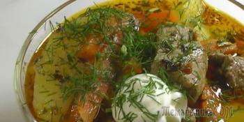Мясо по-азербайджански.Народный рецепт