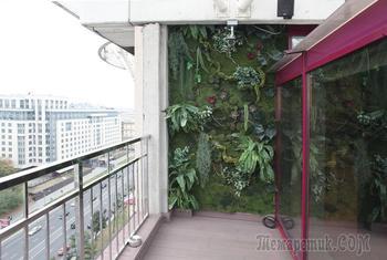 Зелёный балкон на Арбате