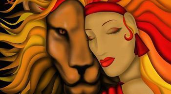 Кто подходит Льву-женщине по гороскопу
