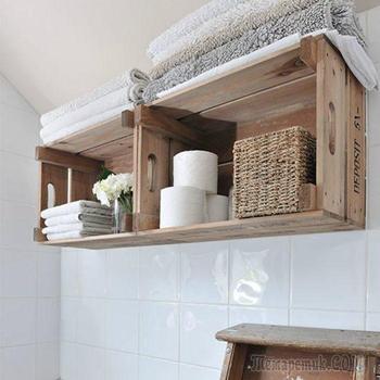 Примеры использования старых деревянных ящиков