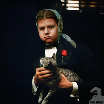 Фотошопер делает крутые и смешные коллажи, объединяя советские фильмы со знаменитостями