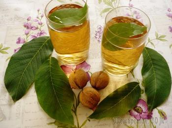 Польза и применение настойки грецкого ореха