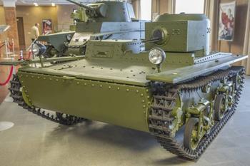Рассказы об оружии, малый плавающий танк Т-38