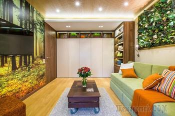 4 примера, как использовать тропический принт в интерьере