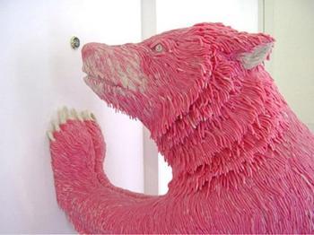 27 скульптур из необычных материалов