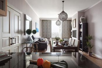 Светлая современная квартира в Москве
