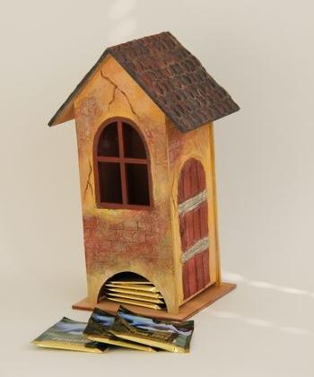 Чайный домик без декупажа